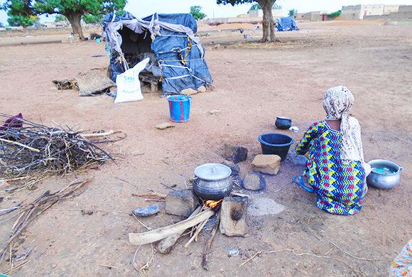 La Famine ou le fléau de l'Afrique