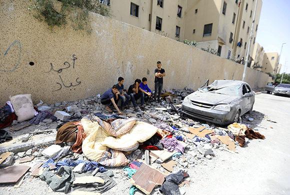 Gaza : Gemeinsam können wir Palästina wieder aufbauen