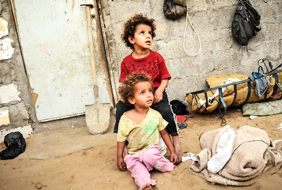 Winter Gaza : Helfen wir Waisenfamilien