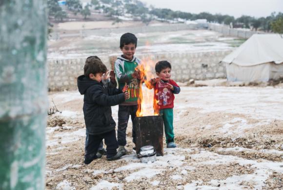 Winter Syrien : Zu hart für die Flüchtlinge