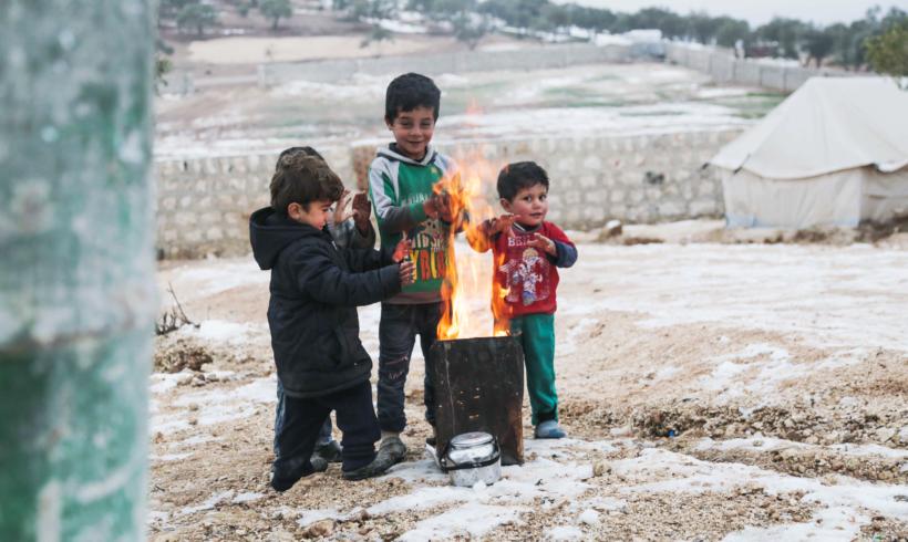 Hiver Syrie : Trop rude pour les réfugiés