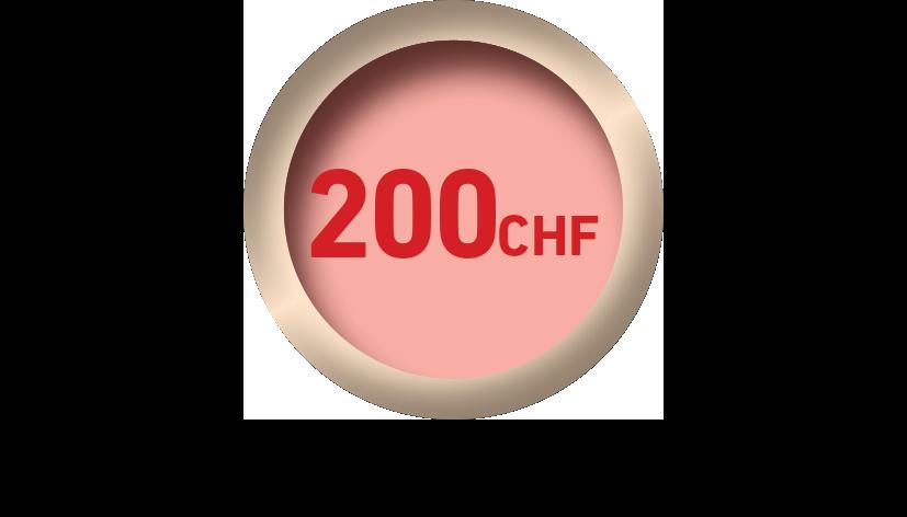 pastille prix 200