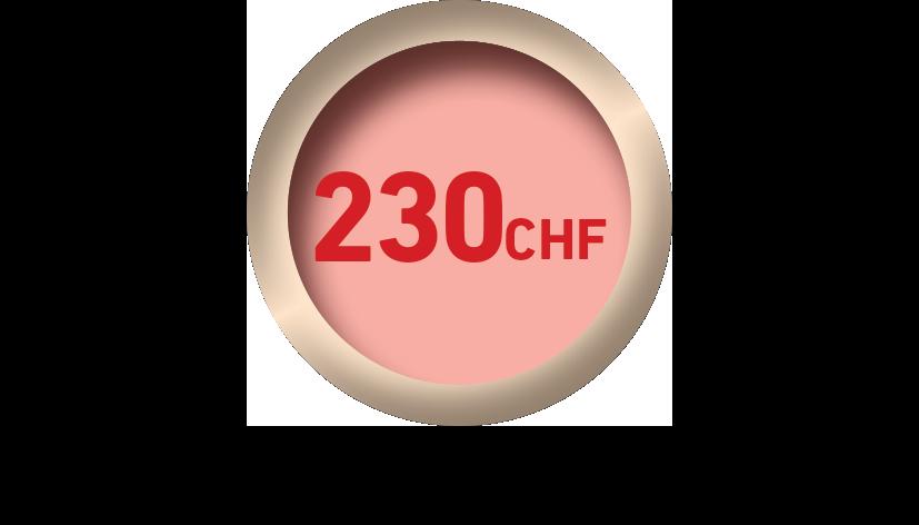 pastille prix 230