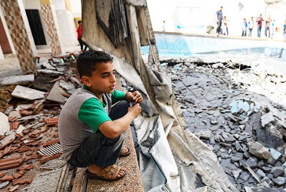 orphelins Gaza