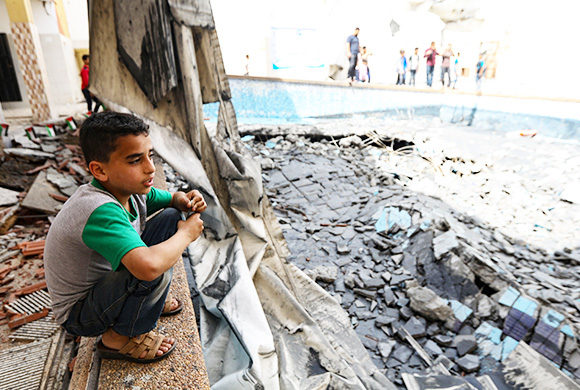 Die humanitäre Lage in Gaza ist alarmierend
