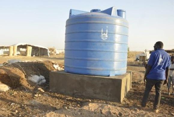 SUDAN FLÜCHTLINGE : eine Hilfe von entscheidender Bedeutung