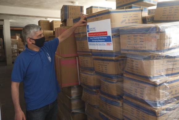 Islamic Relief distribue une aide vitale à Gaza.