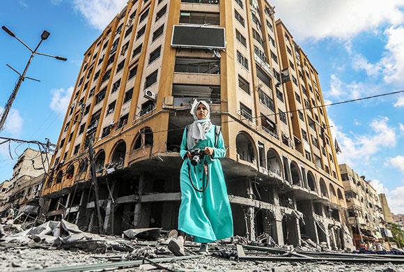 Palästina, ein Feld des Verderbens: Palästinenser in Not.