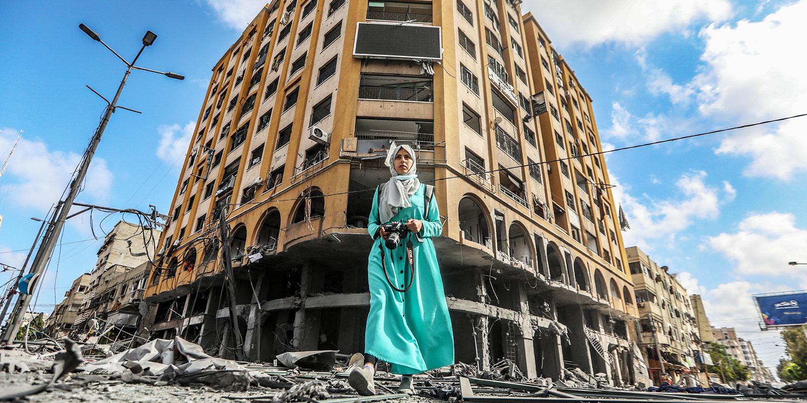 Palestine, un champ de ruine