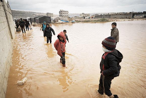 Inondation en Syrie : des milliers de familles sont sans-abris