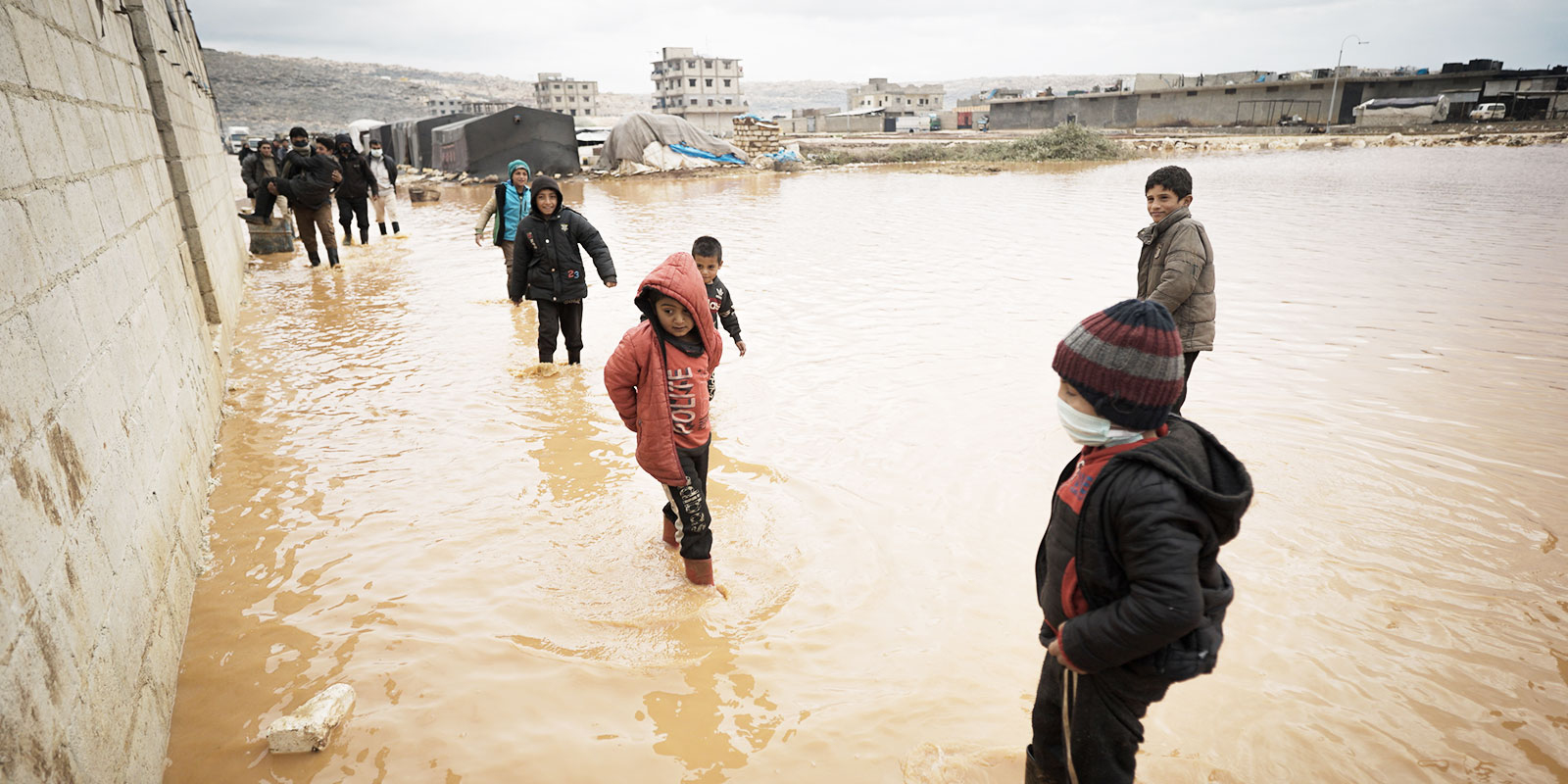 Inondation en Syrie