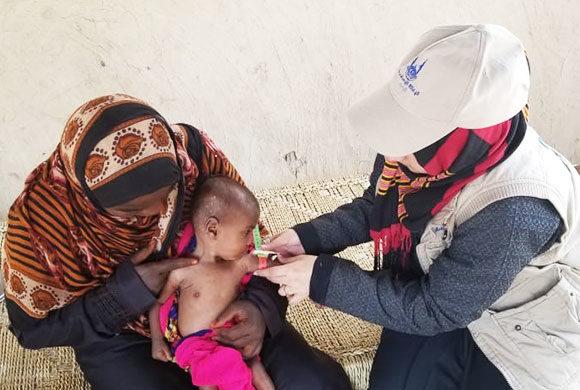 Humanitäre Hilfe im Notzustand